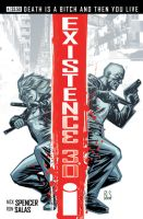 Existence3.0 Issue 4 Cover by ronsalas