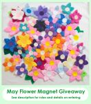 May Flower Magnet Giveaway!! by cutekick