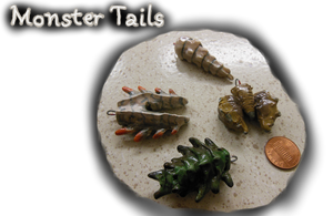 Monster Tail Charms by CatCowProduce