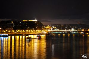 Danube at night by Alex230