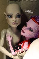 Operetta and CAM Gargoyle repaints by Amber-Honey