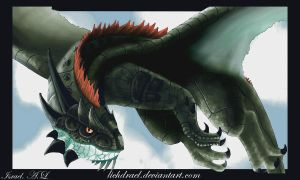 dragon 1 by lichdrael