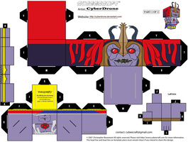 Cubee - Mumm-Ra 2 '1of2' by CyberDrone