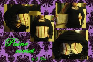 Paine corset by TheSpazOutLoud
