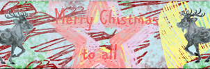 Chistmas Banner by waterflamewerewolf