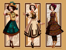 LM: Retro Lolita Set I by Seitou