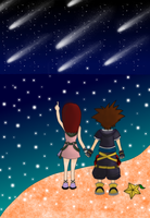 """Isn't it beautiful, Sora?"" by HeartlessKairi"