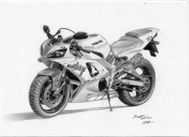 Yamaha R1 by LandinDesign