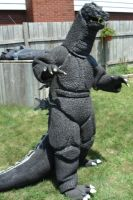 Godzilla Costume by JFakeWeston