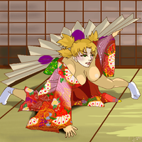 Temari as a Geisha. by Asukawa