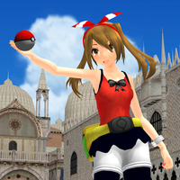 MMD TDA ORAS MAY MODEL REVIEW by Trackdancer