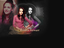 Kristen Stewart Wallpaper by creature-in-night
