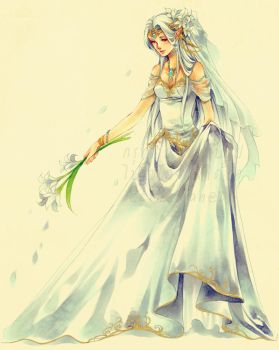 Seremela the Bride by Ecthelian