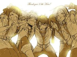 Farewell, Gokaigers by red-lionheart