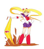 Sailor Moon by ActionKiddy
