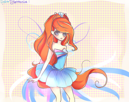 Winx Club Bloom Harmonix by mochatchi