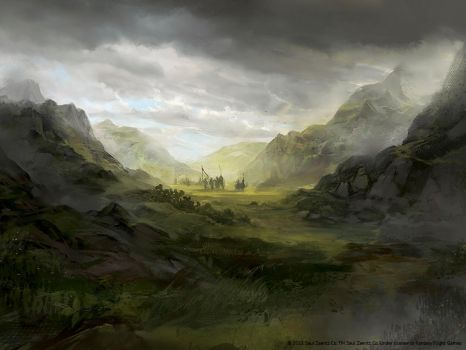 Scattered Among the Hills - LOTR LCG by jcbarquet