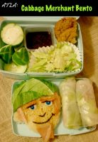 Cabbage Merchant Bento by mindfire3927