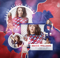+Maisie Williams|Pack Png. by Heart-Attack-Png