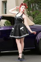 Pin Up Car Show 2 by MissMandyMotionless