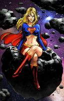 Supergirl Color by Israelanime