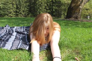 Ginger in the park by Athane