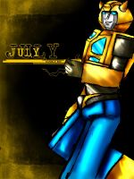 July-Bumble Bee by SeCrEtFeTiShEs
