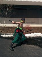 Roronora Zoro ready to fight! by TheArcDesigns