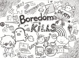 Boredom Kills by samanthaulita