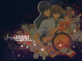 Junjou Egoist Wallpaper by Liiann