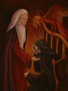 Dumbledore and Snape by MrsGraves