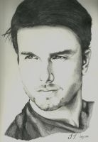 Tom Cruise Sketch by Ralosity