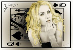 Rosalie: queen of spades by shanaimal