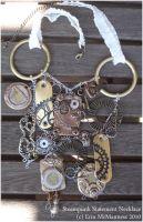 .Steampunk Necklace. by Lii-chan