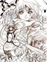 .:D gray man:. by ElfenCeres