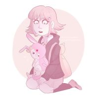 monomi and chiaki by Miss-Ponytails