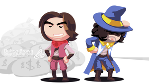Game Grumps Animated: Arin Gets Rich - Costume Art by SmashToons