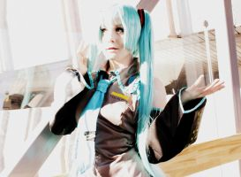 Miku Hatsune in Sweden by Darnellie