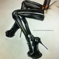 Latex texture in progess. by I-Synaesthetics-I