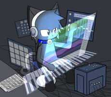 DD is making a song by 00freeze00