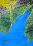 Painted Map by FirstPrimeOfCessna