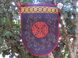 quilted banner by quiltergal
