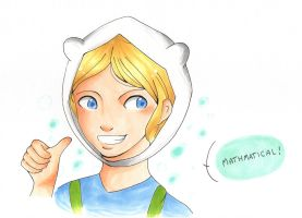 Finn the Human by neon-rage