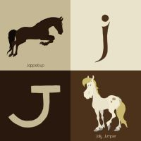 J for horse by Citron--Vert