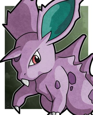 Nidoran (male) by WhyDesignStudios