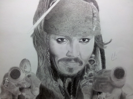 Captain Jack Sparrow by Pandaforge