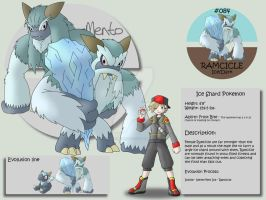 084 - Ramcicle by Pokemon-Mento