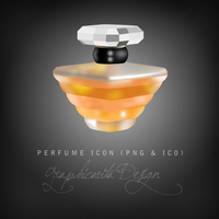 Perfume Icon - Tresor Lancome by graphicavita