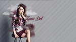 Wallpaper with Lana Del Rey by nataliismiley