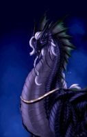 The Shadow Dragon Portrait by Ghostwalker2061